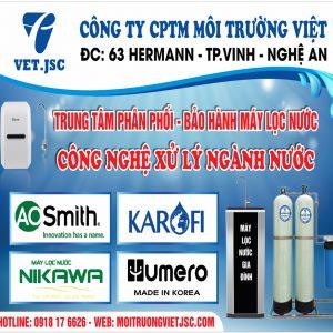 Địa chỉ bán máy lọc nước uy tín, giá rẻ nhất Tp.Vinh, Nghệ An
