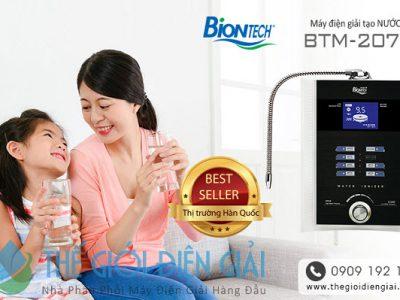 Đại lý bán máy điện giải ion kiềm Biontech BTM-207D tại TP Vinh, Nghệ An 1