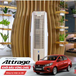 Mua máy lọc nước trúng luôn điện thoại và thêm một xe ô tô Mitsubishi